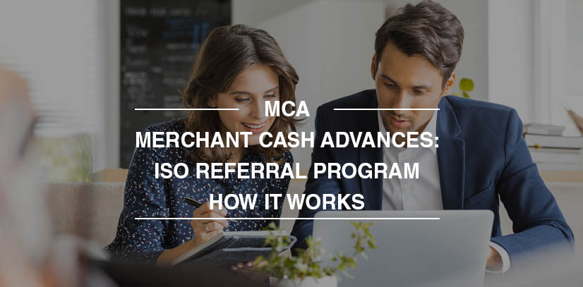 merchant cash advance ISO program