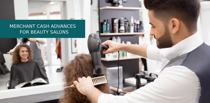 merchant cash advances salons